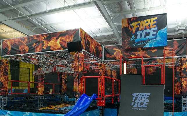 Top Jump Fire and Ice