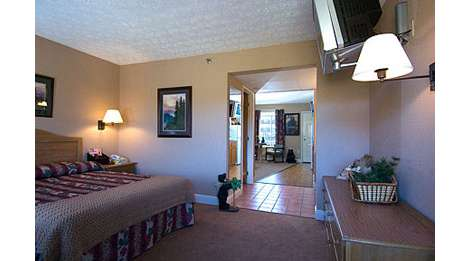 accommodations by twin mountain inn suites pigeon. Black Bedroom Furniture Sets. Home Design Ideas