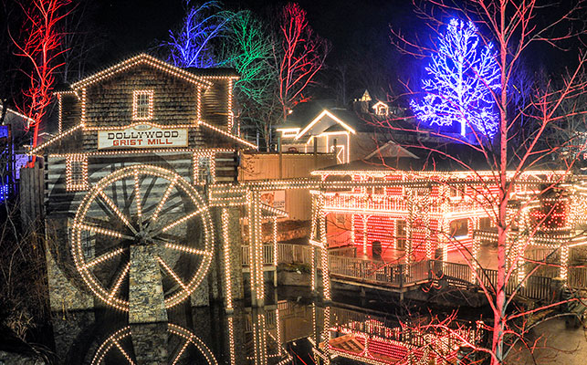 Christmas - Dollywood Grist Mill