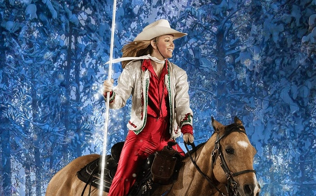 Christmas at Dolly Parton's Stampede - Rider