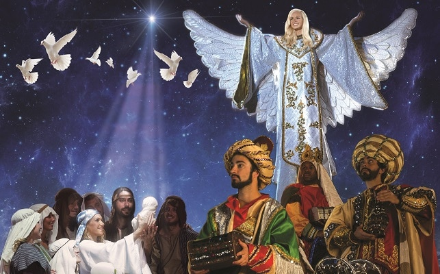 Christmas at Dolly Parton's Stampede - Nativity Scene