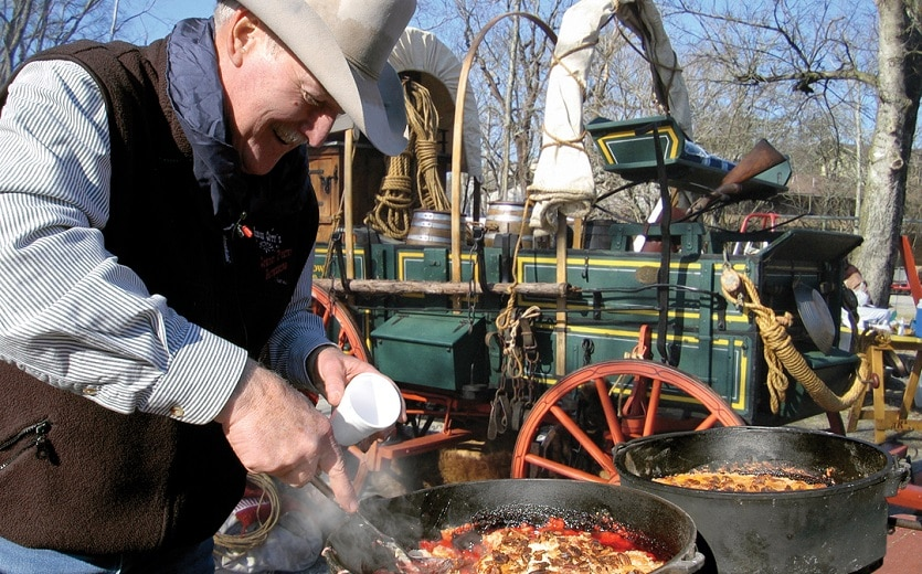 Pigeon Forge Chuck Wagon Cookoff Competition