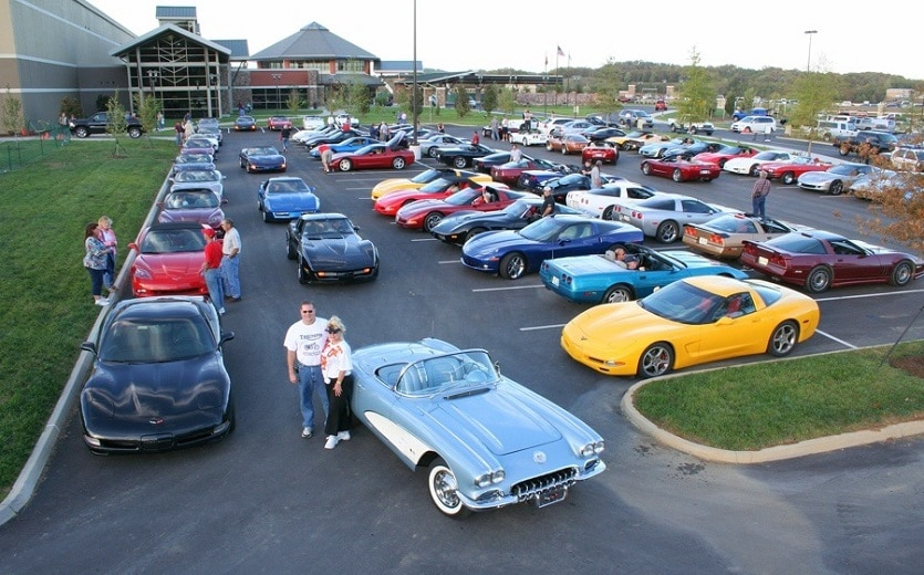 Corvette Expo in Pigeon Forge TN