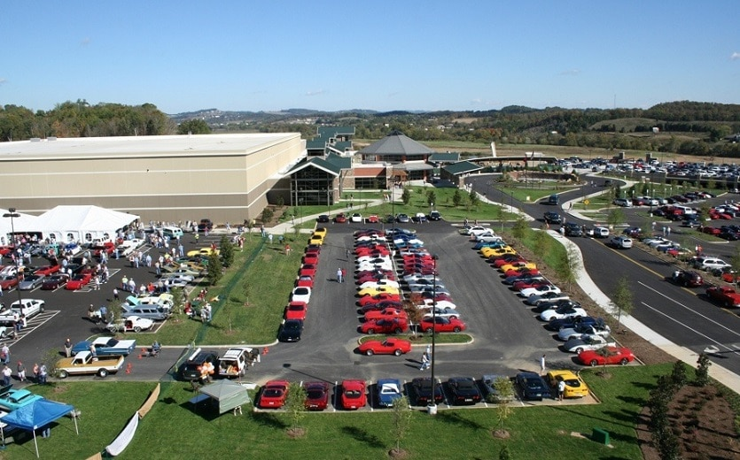 Corvette Expo at the LeConte Center in Pigeon Forge