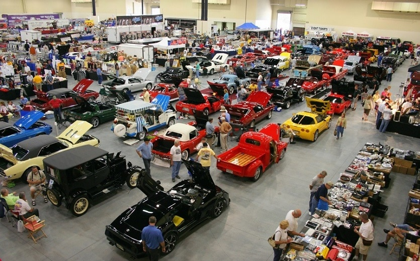Corvette Expo Car Show in Pigeon Forge