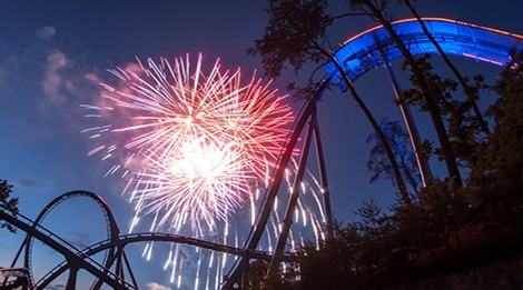 Fireworks Display at Dollywood's Summer Celebration