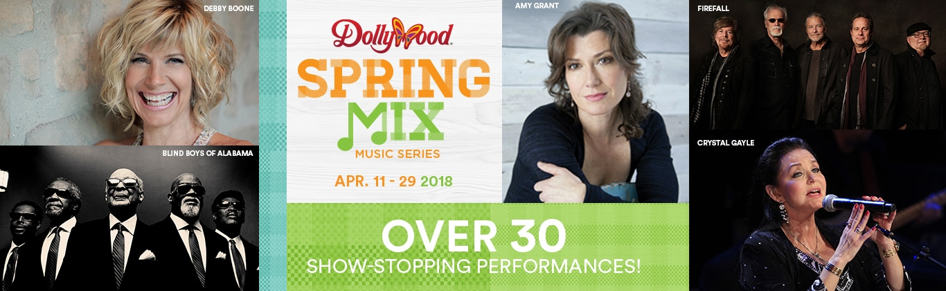 Dollywood Spring Mix Music Series