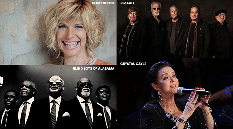 Dollywood Spring Mix Music Series Lineup