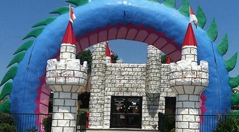 fantasy golf entrance pigeon forge tn