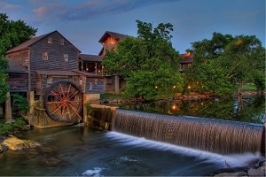 The old mill pigeon forge tn