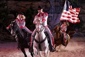 patriotic horses pigeon forge tn