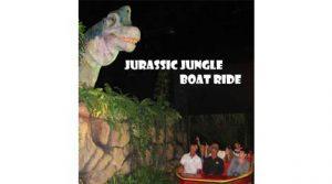 jurrasic jungle boat ride pigeon forge