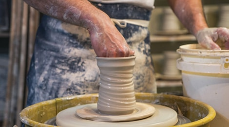 pottery at old mill in pigeon forge tn
