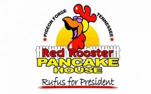 Red Rooster Pancake House in Pigeon Forge, TN