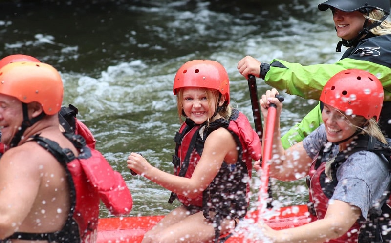 Go Whitewater Rafting with Smoky Mountain Outdoors