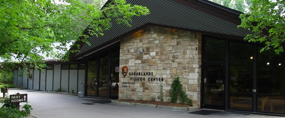 sugarlands visitor center pigeon forge