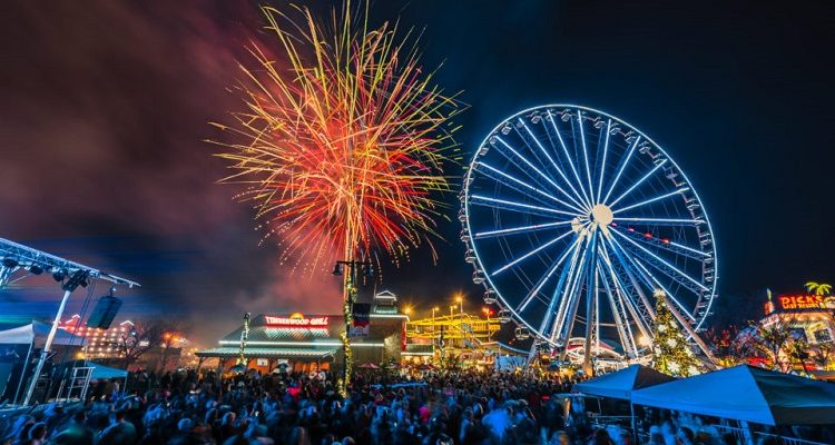 New Year's Eve Celebration at The Island in Pigeon Forge
