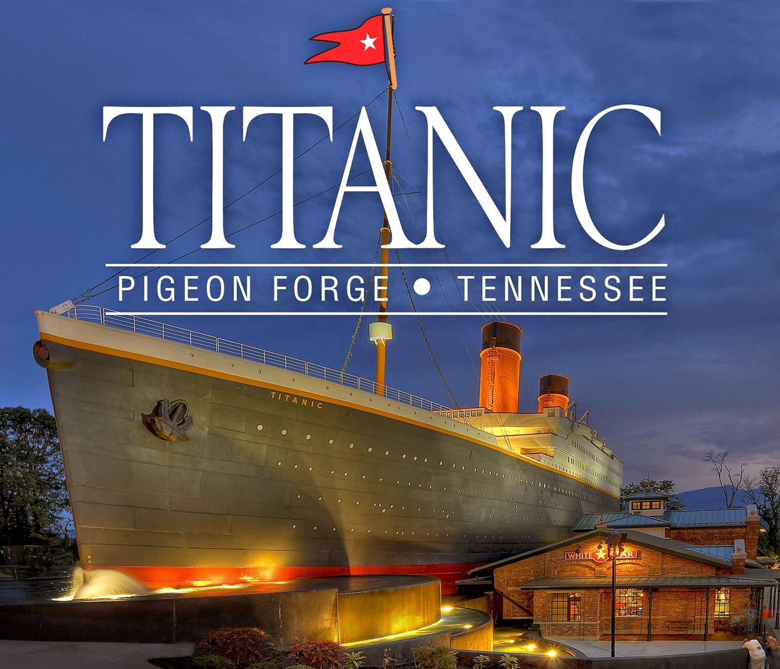 titanic pigeon forge tn
