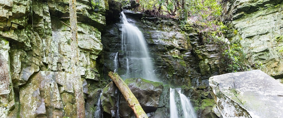 waterfall pigeon forge tn