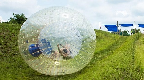 Zorb at Outdoor Gravity Park in Pigeon Forge TN