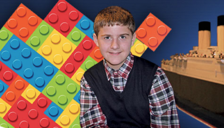 Titanic Lego Kid