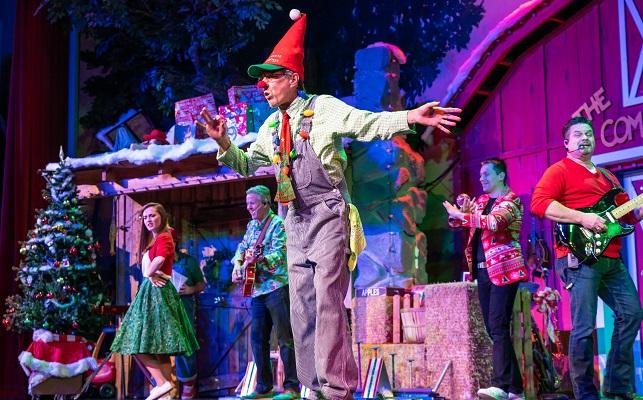 Comedy Barn Christmas Show - clown