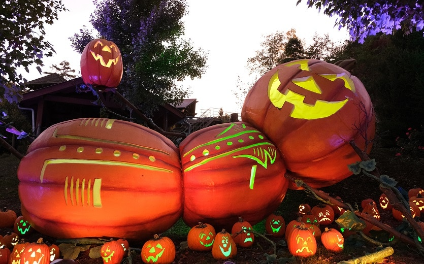 "Dollywood Presents the ""Great Pumpkin LumiNights"""
