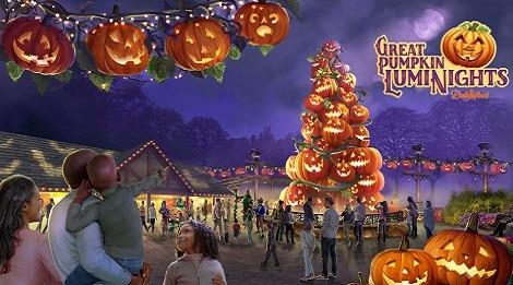 great pumpkin luminights dollywood festival pigeon forge