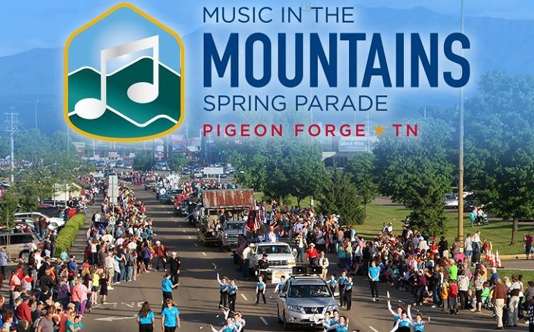 Music in the Mountains Spring Parade - Pigeon Forge TN