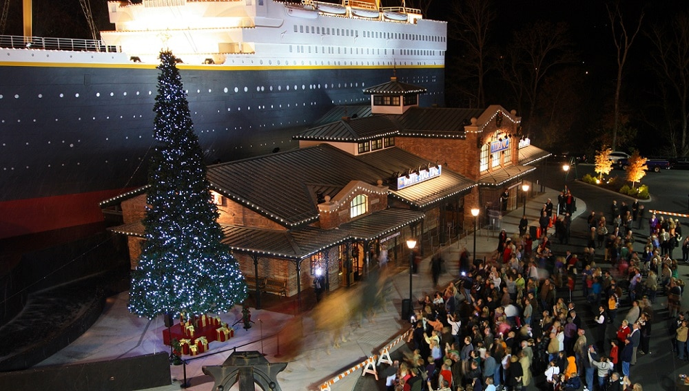 Christmas at the Titanic Museum in Pigeon Forge, TN