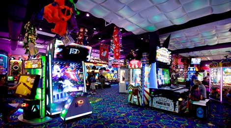 Shopping In Biloxi Ms >> Arcade City at The Island - My Pigeon Forge
