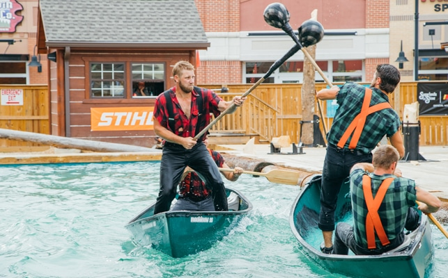 Paula Deen's Lumberjack Feud Show and Adventure Park - Pigeon Forge TN