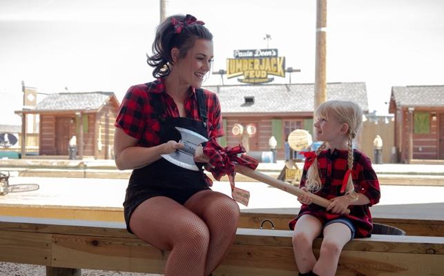 Paula Deens Lumberjack Feud lumberjills