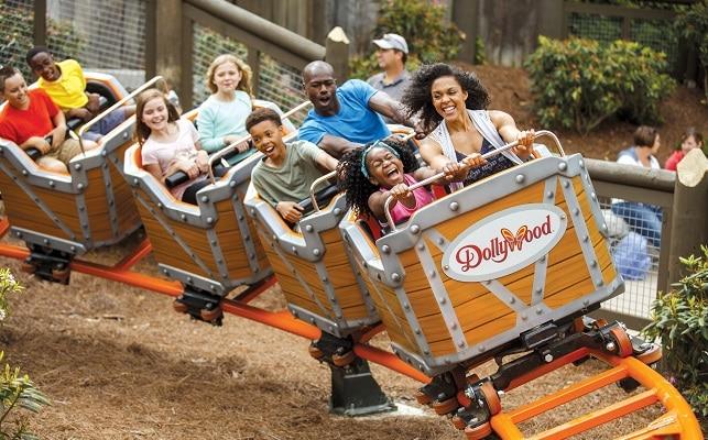 Rides at Dollywood