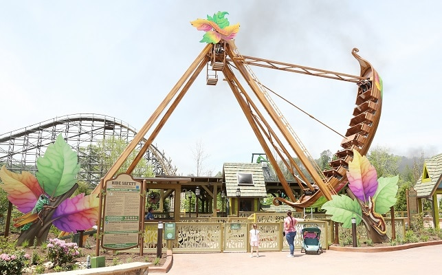 Rides at Dollywood's Wildwood Grove