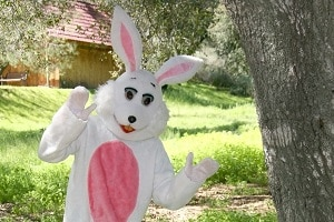 Easter Bunny in Pigeon Forge Tennessee