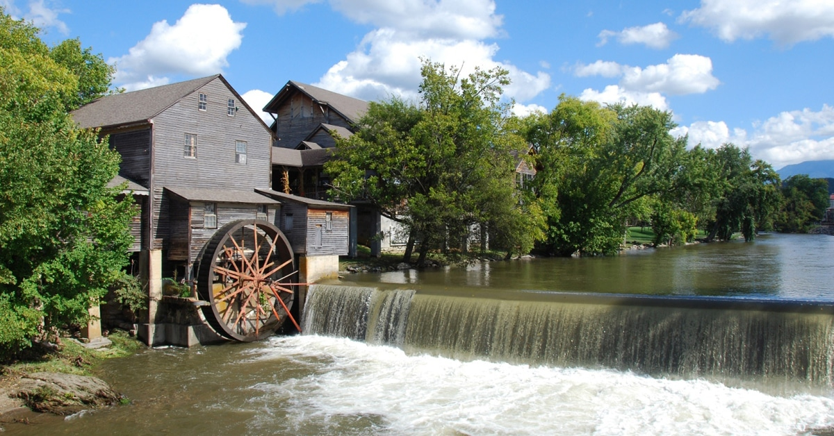 old mill pigeon forge tn