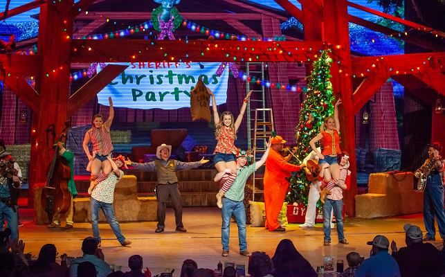 Hatfield & McCoy Christmas Disaster - Sheriff's Christmas Party