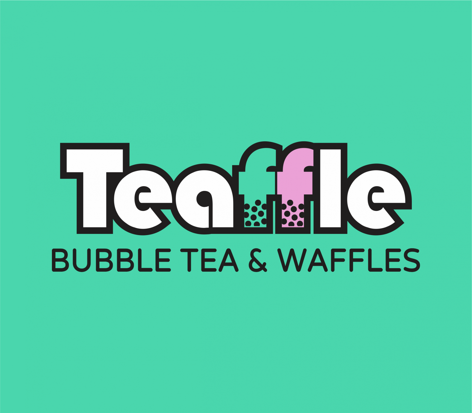 Teaffle Bubble Tea and Waffles