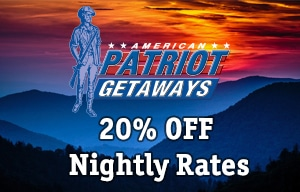 American Patriot Getaways Coupon