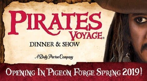 Pirates Voyage Dinner and Show Pigeon Forge, TN