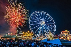 new years eve fireworks at the island in pigeon forge tn