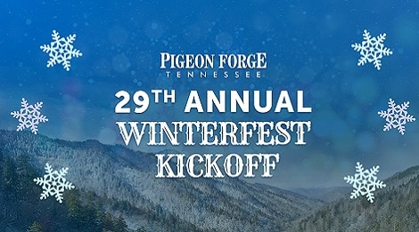 annual winterfest kickoff pigeon forge