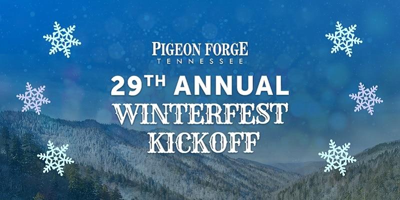 annual winterfest kickoff pigeon forge