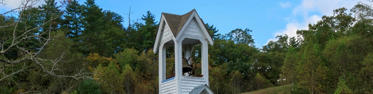 Wood Chapel in the Smoky Mountains