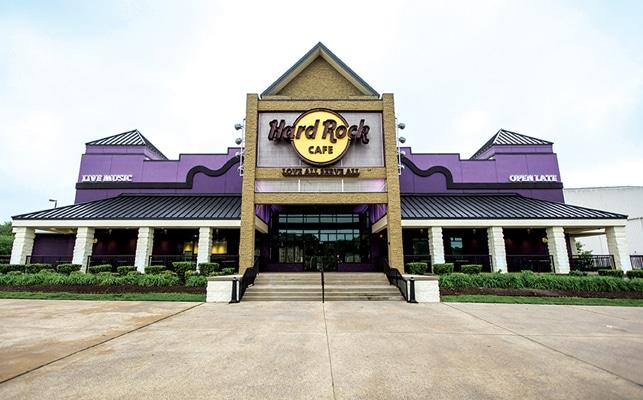 Easter Bunny Hard Rock Cafe-Exterior