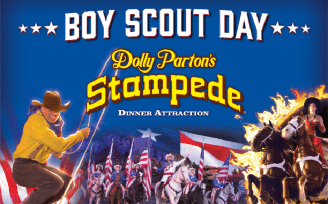 Boy Scouts Day at Dolly Parton's Stampede in Pigeon Forge, TN