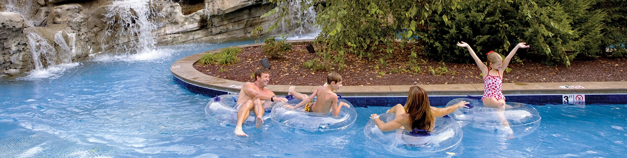 Pigeon Forge Hotels with Pools, Water Parks and Lazy Rivers