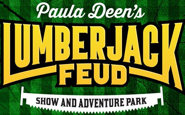 Paula Deen Lumberjack Feud Logo