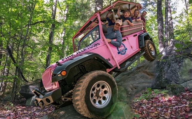 Pink Jeep Tours - Jeep Foliage